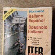 Diccionarios de segunda mano: DICCIONARIO ITALIANO ESPAÑOL - SPAGNOLO ITALIANO. Lote 184749953