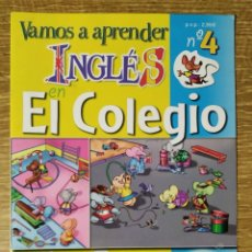 Diccionarios de segunda mano: DICCIONARIO INFANTIL EN INGLÉS - VAMOS A APRENDER INGLÉS EN EL COLEGIO. Lote 185719771