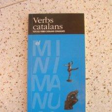 Diccionarios de segunda mano: LIBRO VERBS CATALANS ,TOTS ELS VERBS CATALANS COJUGATS EDICIONS CALTELLNOU. Lote 186123885