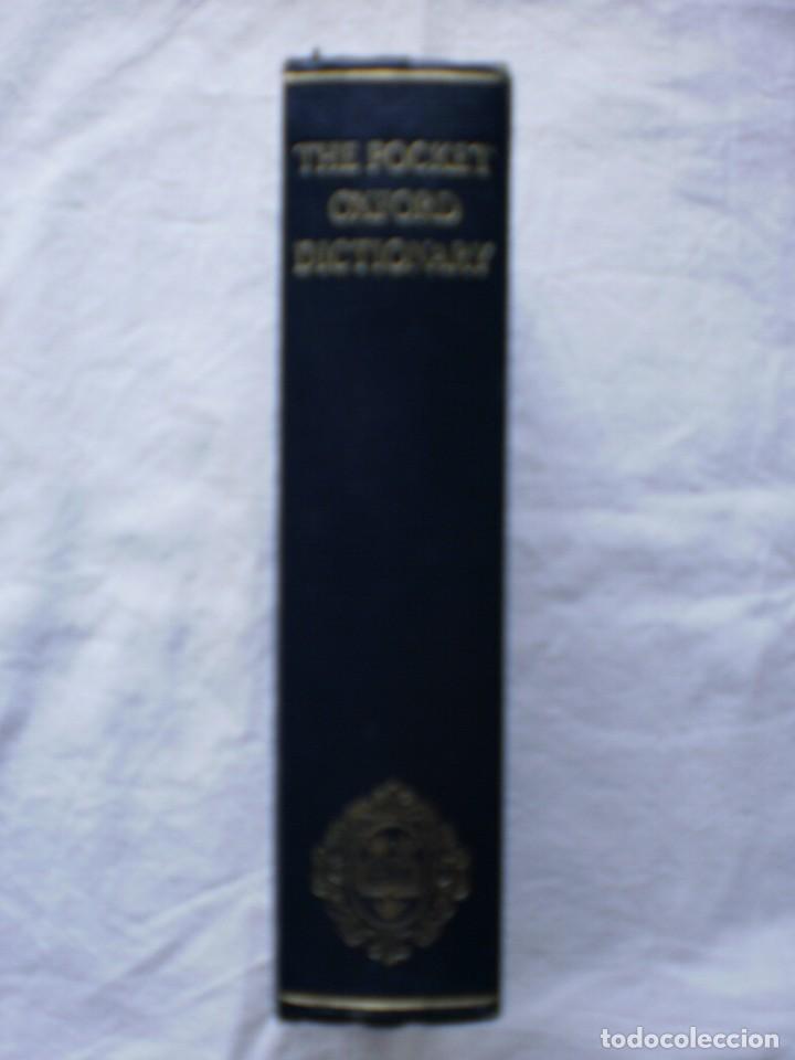 THE POCKET OXFORD DICTIONARY (Libros de Segunda Mano - Diccionarios)