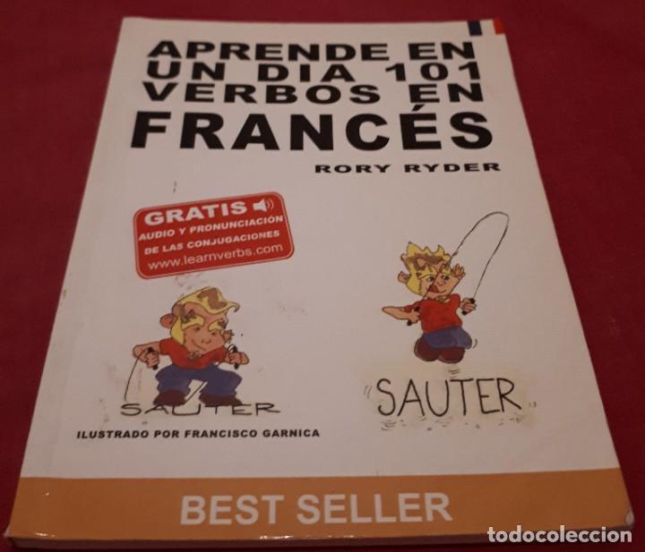 APRENDE EN UN DIA 101 VERBOS EN FRANCÉS – RORY RYDER (Libros de Segunda Mano - Diccionarios)