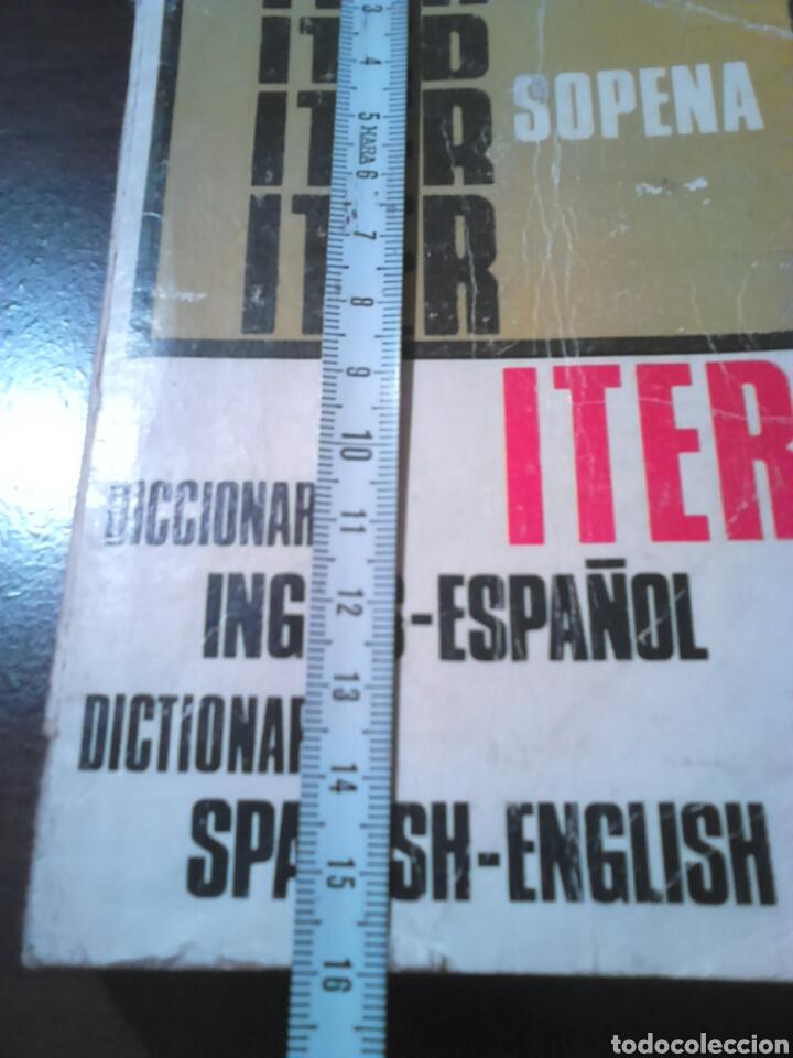 Diccionarios de segunda mano: Excelente diccionario, iter sopena,inglés -español, año 1977 - Foto 3 - 187119431