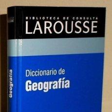 Diccionarios de segunda mano: DICCIONARIO LAROUSSE. GEOGRAFIA.. Lote 188493391
