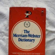 Diccionarios de segunda mano: THE MERRIAM-WEBSTER DICTIONARY. Lote 189119720