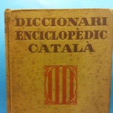 Diccionarios de segunda mano: DICCIONARI ENCICLOPÈDIC CATALÀ. EDICIÓ BEDUÏDA. SALVAT EDITORES. Lote 189135791