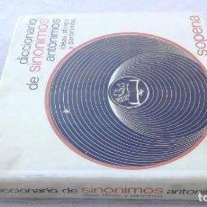 Livros em segunda mão: SINONIMOS ANTONIMOS IDEAS AFINES Y PARONIMOS - SOPENA -DICCIONARIOG101. Lote 189153282