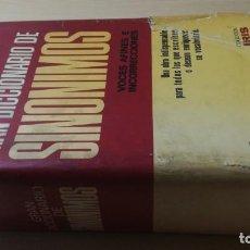 Diccionarios de segunda mano: FERNANDO CORRIPIO - SINONIMOS VOCES AFINES E INCORRECCIONES BRUGUERADICCIONARIOH302. Lote 189155643