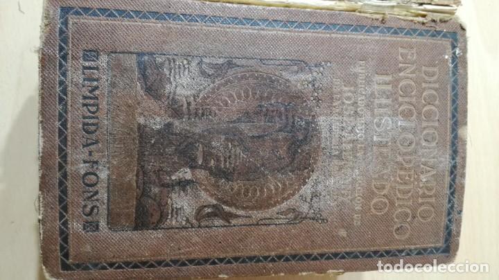 ENCICLOPEDIDO ILUSTRADO LIMPIDA - FONS - JOSE ALEMAY - SOPENADICCIONARIOM 102 (Libros de Segunda Mano - Diccionarios)