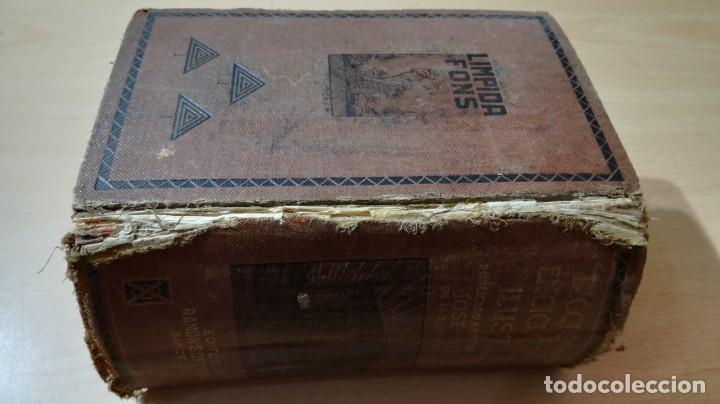 Diccionarios de segunda mano: ENCICLOPEDIDO ILUSTRADO LIMPIDA - FONS - JOSE ALEMAY - SOPENADICCIONARIOM 102 - Foto 4 - 189175070