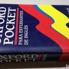 Diccionarios de segunda mano: OXFORD POCKET PARA ESTUDIANTES ESPAÑOL INGLESDICCIONARIOZ503. Lote 189179626