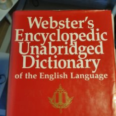 Diccionarios de segunda mano: WEBSTER,S ENCICLOPEDIC UNABRIDGED DICTIONARY.NEW YORK. Lote 189413563