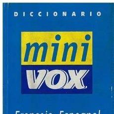 Diccionarios de segunda mano: DICCIONARIO MINI VOX FRANÇAIS-ESPAGNOL, ESPAÑOL-FRANCES,. Lote 189518086
