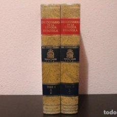 Diccionarios de segunda mano: 2 LIBROS DICCIONARIO DE LA LENGUA ESPAÑOLA OBRA COMPLETA DE AÑO 1984. Lote 190588182