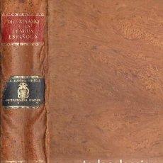 Diccionarios de segunda mano: DICCIONARIO DE LA LENGUA ESPAÑOLA. DECIMONOVENA EDICION (1970). A-DICC-229. Lote 191038755
