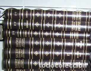 Diccionarios de segunda mano: DICCIONARIO ENCICLOPÉDICO UNIVERSAL SALVAT 1995 - 23 TOMOS HASTA 1995 - Foto 2 - 46654845
