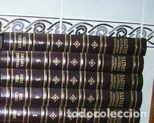 Diccionarios de segunda mano: DICCIONARIO ENCICLOPÉDICO UNIVERSAL SALVAT 1995 - 23 TOMOS HASTA 1995 - Foto 4 - 46654845