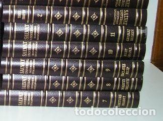 Diccionarios de segunda mano: DICCIONARIO ENCICLOPÉDICO UNIVERSAL SALVAT 1995 - 23 TOMOS HASTA 1995 - Foto 5 - 46654845
