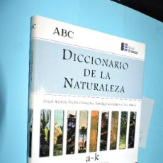 Diccionarios de segunda mano: DICCIONARIO DE LA NATURALEZA:A-K RAMOS, A.; CIFUENTES, P.; GONZALEZ, S. ED.ESPASA-CALPE. MADRID 1998. Lote 191263143