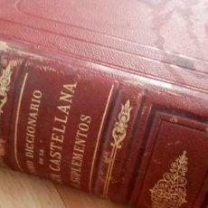Diccionarios de segunda mano: NOVÍSIMO DICCIONARIO DE LENGUA CASTELLANA (AÑO 1878). Lote 191289626