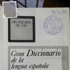 Diccionarios de segunda mano: GRAN DICCIONARIO DE LA LENGUA ESPAÑOLA,SGEL 1988. Lote 191493516