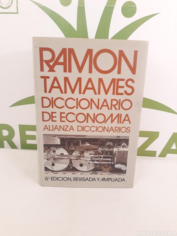 RAMON TAMAMES.DICCIONARIO DE ECONOMIA.ALIANZA DICCIONARIOS. (Libros de Segunda Mano - Diccionarios)