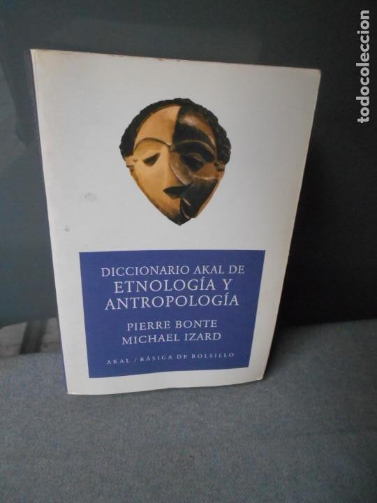 DICCIONARIO AKAL DE ETNOLOGIA Y ANTROPOLOGIA (Libros de Segunda Mano - Diccionarios)