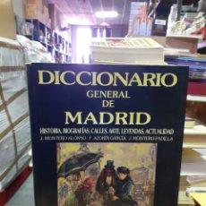 Diccionarios de segunda mano: DICCIONARIO GENERAL DE MADRID. Lote 191684195