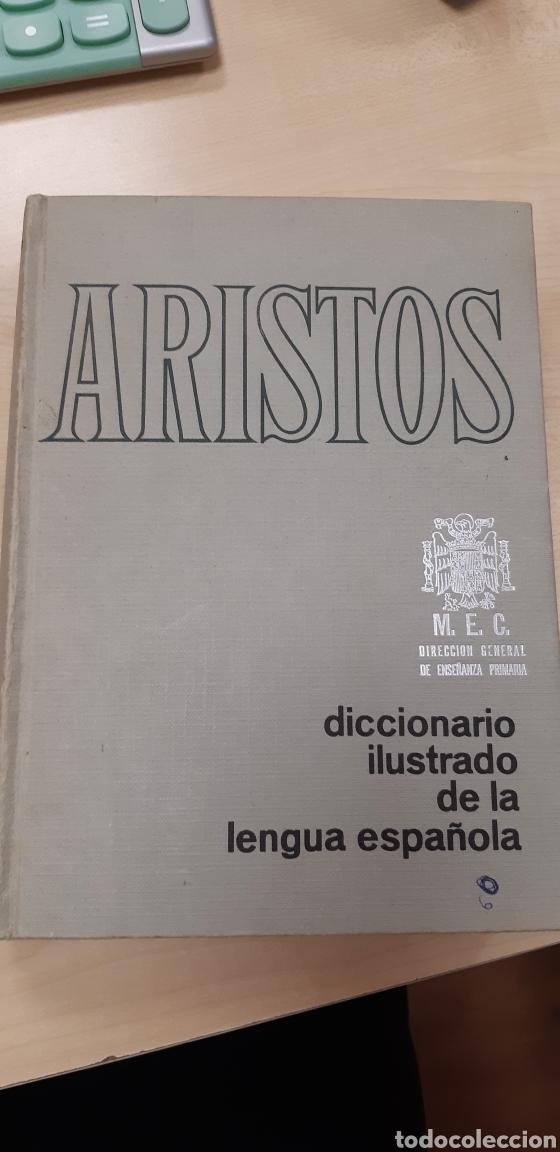 ARISTOS. DICCIONARIO ILUSTRADO DE LA LENGUA ESPAÑOLA (Libros de Segunda Mano - Diccionarios)