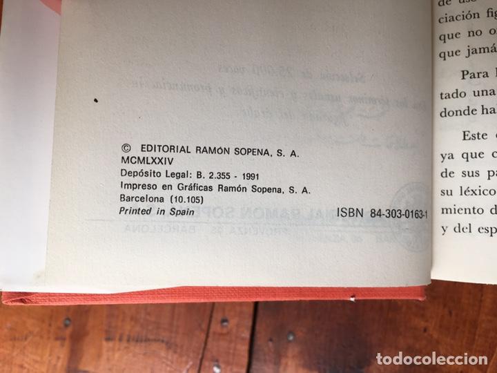 Diccionarios de segunda mano: Diccionario Alhambra ESPAÑOL - ÁRABE, ÁRABE - ESPAÑOL. Edit. Sopena - Foto 4 - 192174268