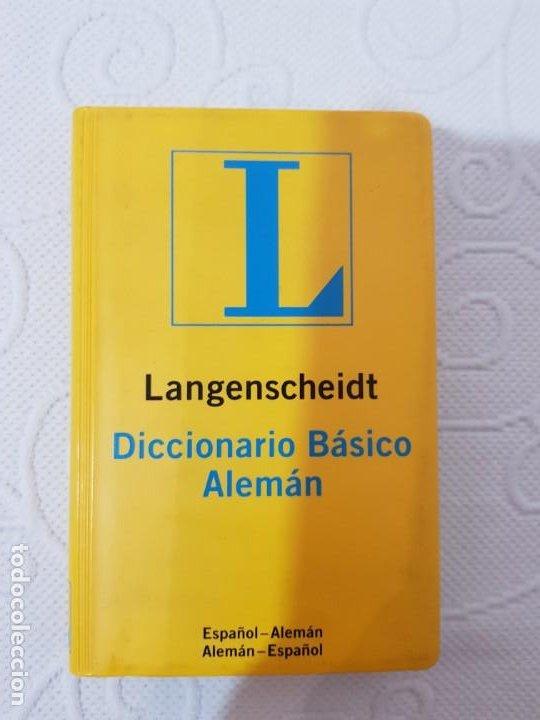 DICCIONARIO BÁSICO ALEMÁN LANGENSCHEIDT, 45000 VOCES Y LOCUCIONES, 576 PÁGINAS, 10 X 15 CMS (Libros de Segunda Mano - Diccionarios)