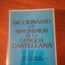 Diccionarios de segunda mano: DICCIONARIO DE SINÓNIMOS DE LA LENGUA ESPAÑOLA.. Lote 192508228