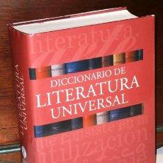 Diccionarios de segunda mano: DICCIONARIO DE LITERATURA UNIVERSAL POR ALBERTO COUSTÉ Y OTROS DE ED. OCÉANO EN BARCELONA 2004. Lote 192855695