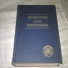 Diccionarios de segunda mano: 10- DICCIONARIO DE INGLES APPLETON, 1962. Lote 193077758