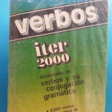 Libri di seconda mano: VERBOS. DICCIONARIO DE VERBOS Y SU CONJUGACIÓN GRAMÁTICA. EDITORIAL SOPENA. Lote 193578466