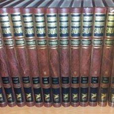 Diccionarios de segunda mano: DICCIONARIO ENCICLOPÉDICO UNIVERSAL 20T DE ED. SALVAT EN NAVARRA 1981 (COMPLETO A-Z). Lote 193652055