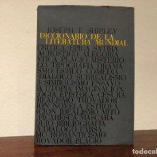 Diccionarios de segunda mano: DICCIONARIO DE LA LITERATURA MUNDIAL. CRÍTICA. FORMAS. TÉCNICA. JOSEPH T. SHIPLEY. EDICIONES DESTINO. Lote 193968183