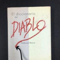 Diccionarios de segunda mano: DICCIONARIO DEL DIABLO - AMBROSE BIERCE - EDIMAT 2007. Lote 194077693