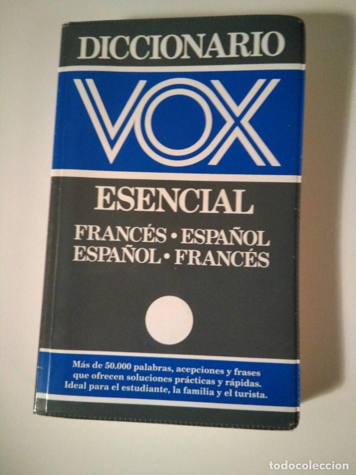 VOX DICCIONARIO ESENCIAL FRANCES ESPAÑOL (Libros de Segunda Mano - Diccionarios)