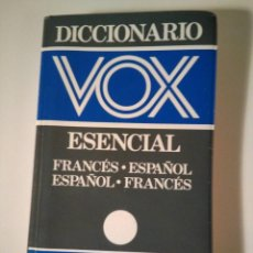 Diccionarios de segunda mano: VOX DICCIONARIO ESENCIAL FRANCES ESPAÑOL. Lote 194224108