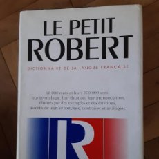 Diccionarios de segunda mano: LE PETIT ROBERT 1, DICTIONNAIRE DE LA LANGUE FRANÇAISE, PAUL ROBERT 2003. Lote 194569431