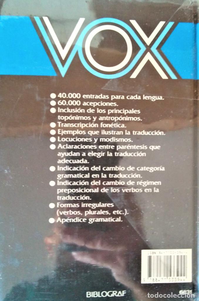 Diccionarios de segunda mano: VOX - DICCIONARIO MANUAL- FRANCES-ESPAÑOL / ESPAÑOL-FRANCES - Foto 2 - 194787611