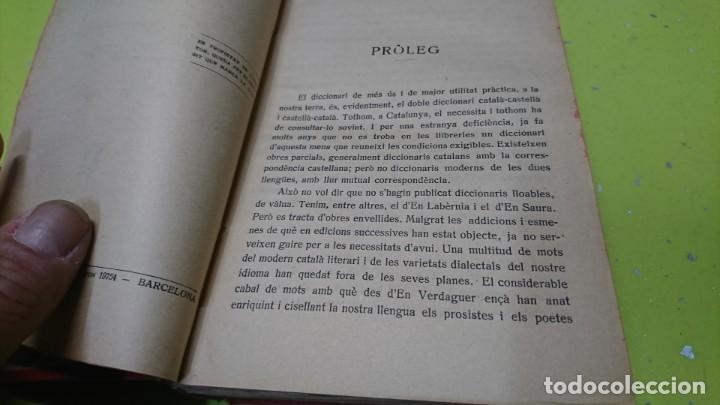 Diccionarios de segunda mano: DICCIONARI CÁTALA-CASTELLA CASTELLA-CÁTALA, A. ROVIRA - Foto 7 - 194885495