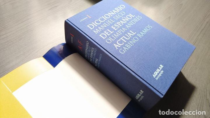 Diccionarios de segunda mano: DICCIONARIO DEL ESPAÑOL ACTUAL MANUEL SECO, GABINO RAMOS Aguilar - Foto 5 - 194898066