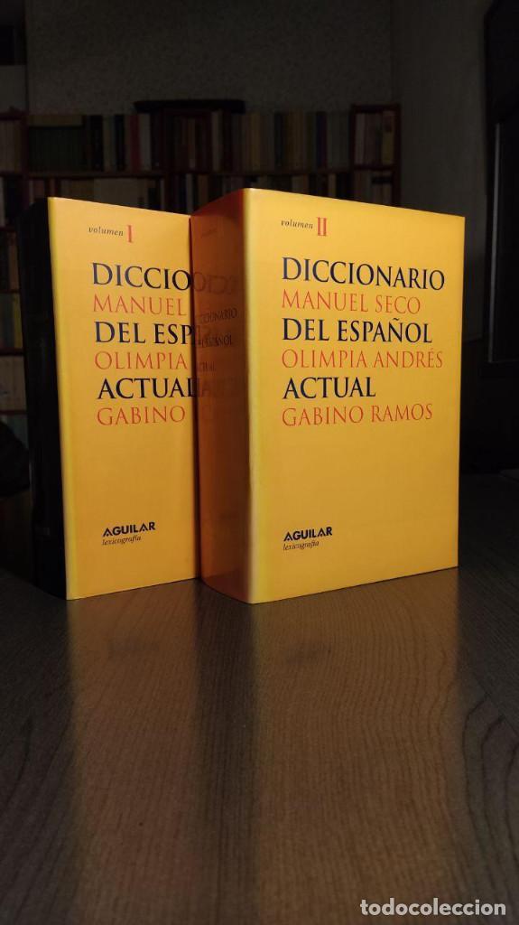 Diccionarios de segunda mano: DICCIONARIO DEL ESPAÑOL ACTUAL MANUEL SECO, GABINO RAMOS Aguilar - Foto 8 - 194898066