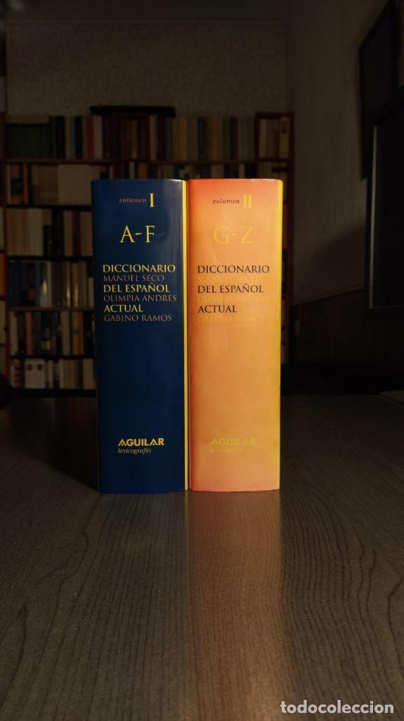 Diccionarios de segunda mano: DICCIONARIO DEL ESPAÑOL ACTUAL MANUEL SECO, GABINO RAMOS Aguilar - Foto 9 - 194898066