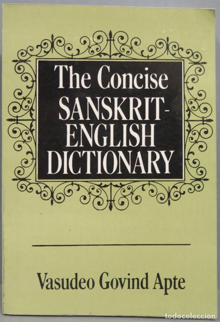 THE CONCISE SANSKRIT-ENGLISH DICTIONARY. VASUDEO (Libros de Segunda Mano - Diccionarios)