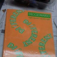 Diccionarios de segunda mano: DICCIONARIO INGLES ESPAÑOL. DIFFERENT. Lote 194948713