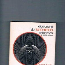 Diccionarios de segunda mano: DICCIONARIO DE SINONIMOS ANTONIMOS E IDEAS AFINES SOPENA 1980. Lote 195039113