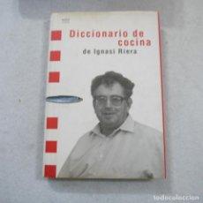 Diccionarios de segunda mano: DICCIONARIO DE COCINA - IGNASI RIERA - MSV EDITOR - 1993 . Lote 195102247