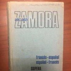 Diccionarios de segunda mano: DICCIONARIO FRANCÉS - ESPAÑOL / ESPAÑOL - FRANCÉS - SOPENA. Lote 195156202